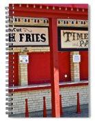 Outdoor Diner Spiral Notebook