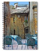 Outdoor Dining Spiral Notebook