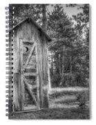 Outdoor Plumbing Spiral Notebook
