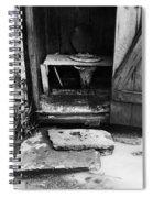 Outdoor Toilet, 1935 Spiral Notebook