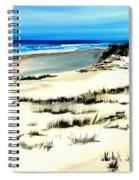 Outer Banks Sand Dunes Beach Ocean Spiral Notebook