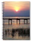 Outerbanks Nc Sunset Spiral Notebook