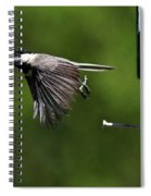 Outgoing Spiral Notebook