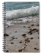 Outgoing Tide Spiral Notebook