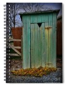 Outhouse - 6 Spiral Notebook