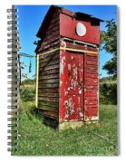 Outhouse 9 Spiral Notebook