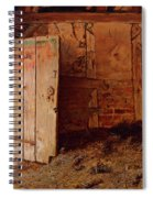 Outhouse Interior Spiral Notebook