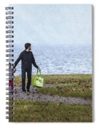 Outing In Autumn Spiral Notebook