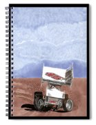 Outlaw Race Car Spiral Notebook
