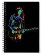 Outlaws #12 Art Cosmic Spiral Notebook