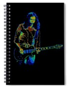 Outlaws #12 Art Psychedelic Spiral Notebook