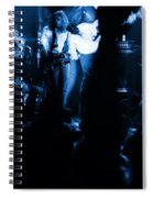 Outlaws #13 Blue Spiral Notebook