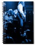 Outlaws #14 Blue Spiral Notebook