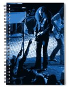 Outlaws #16 Art Blue Spiral Notebook