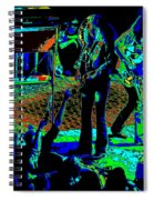 Outlaws #16 Art Psychedelic Spiral Notebook