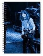 Outlaws #21 Crop 2 Blue Spiral Notebook