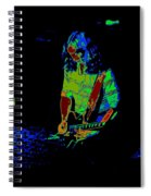 Outlaws #22 Art Psychedelic Spiral Notebook