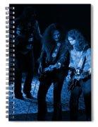 Outlaws #25 Crop 2 Blue Spiral Notebook
