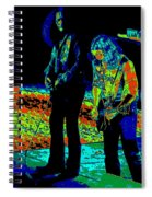 Outlaws #31 Crop 2 Art Psychedelic Spiral Notebook