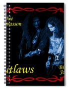 Outlaws Billy Jones And Hughie Thomasson Spiral Notebook