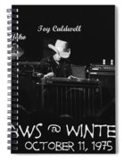 Outlaws With Toy Caldwell 1975 Spiral Notebook