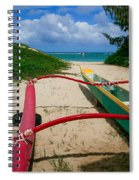 Outrigger Beach Spiral Notebook