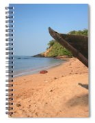 Outrigger On Cola Beach Spiral Notebook