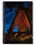 Outrigger Reef On The Beach Spiral Notebook