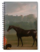 Outside The Guardhouse At Windsor Spiral Notebook