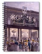 Outside The Theatre Royal, Drury Lane Spiral Notebook