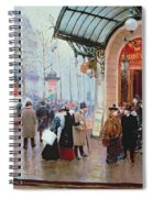 Outside The Vaudeville Theatre Spiral Notebook
