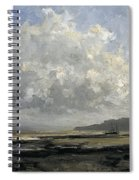 Outskirts Of Trouville Spiral Notebook