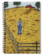 Outstanding In His Field Spiral Notebook