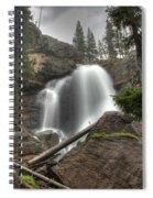Ouzel Falls Upper View Spiral Notebook