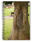 Oval Tree Art Spiral Notebook