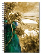Over For The Clover Spiral Notebook