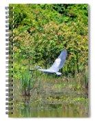 Over Golden Waters Spiral Notebook