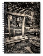 Over Hill-over Dale Spiral Notebook