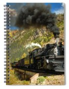 Over The Animas River Spiral Notebook