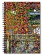 Over The Back Fence Spiral Notebook