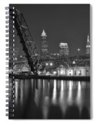 Over The Cuyahoga Spiral Notebook