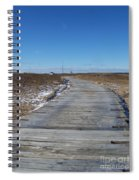 Over The Dunes Spiral Notebook