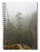 Over The Edge Spiral Notebook