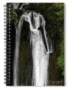 Over The Edge Two Spiral Notebook