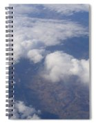Over The Mountains Spiral Notebook