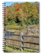Over The River And Into The Through The Woods  Spiral Notebook