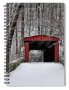 Over The River And Through The Woods Spiral Notebook