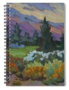 Overcast Light In Santa Barbara Spiral Notebook