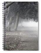 Overhanging Trees Spiral Notebook