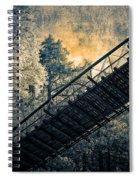 Overhead Bridge Spiral Notebook